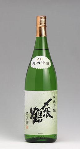 """〆張鶴 """"越淡麗"""" 純米吟醸 1.8L"""