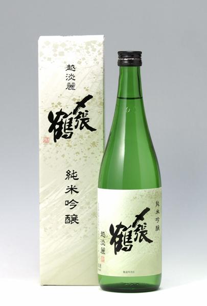 """〆張鶴 """"越淡麗"""" 純米吟醸 720ml"""