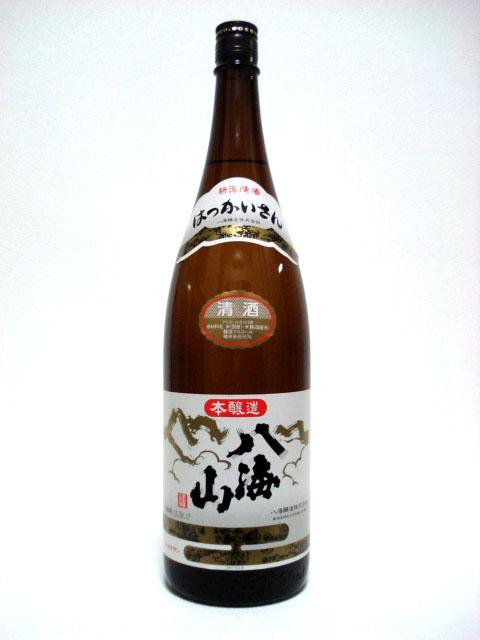 八海山 特別本醸造 1.8L