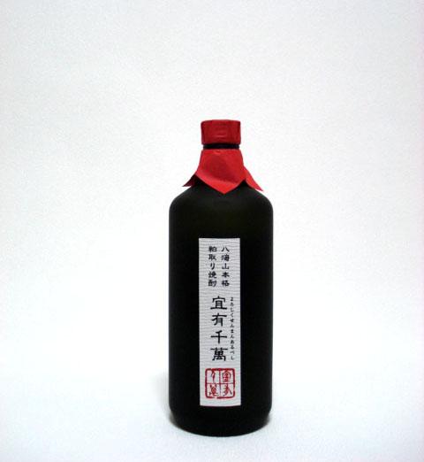 八海山 本格粕取焼酎 宜有千萬 (よろしくせんまんあるべし) 720ml