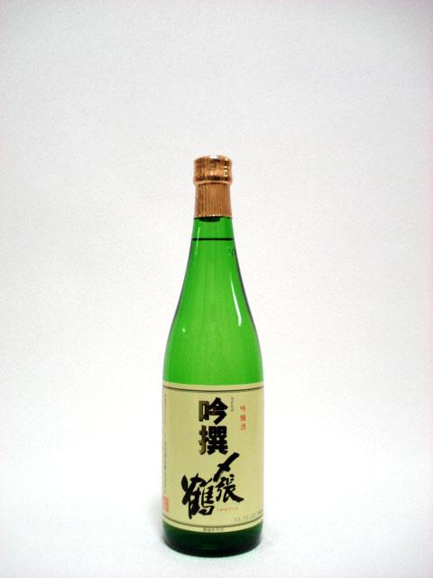 〆張鶴 吟撰 720ml (吟醸酒)