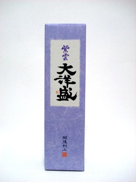 紫雲 720ml 1本用化粧箱