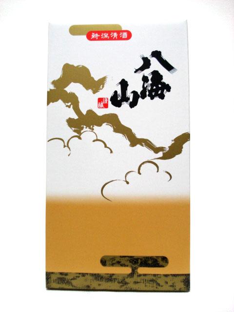 八海山 1.8L/2本用化粧箱