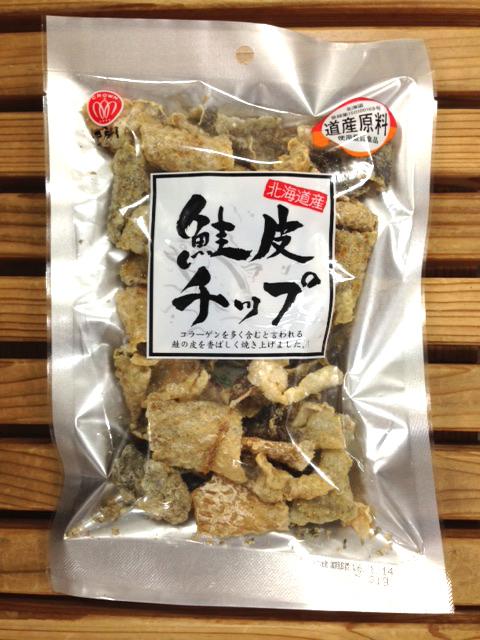 江戸屋 北海道産 鮭皮チップ 31g