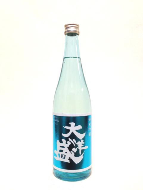 大洋盛 純米吟醸生貯蔵酒 スカイブルーラベル720ml