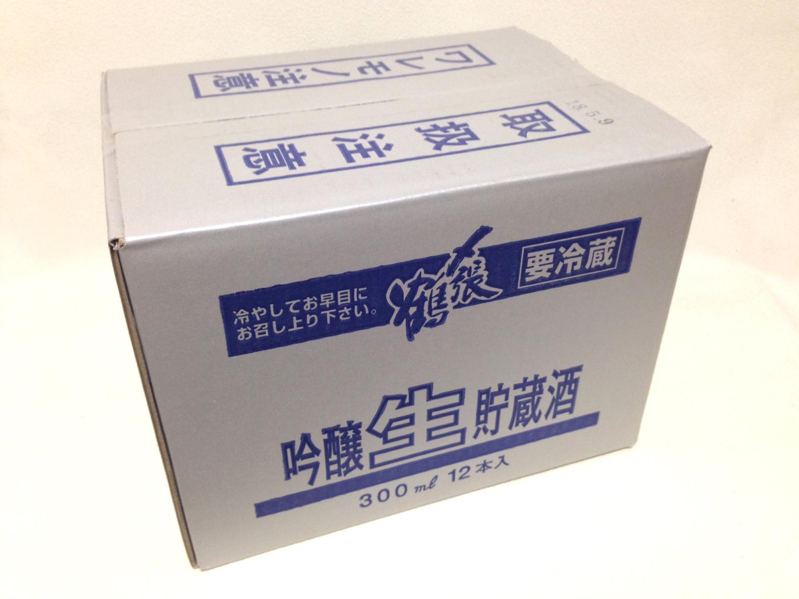 〆張鶴 生貯蔵酒 300ml×12本入(吟醸酒)