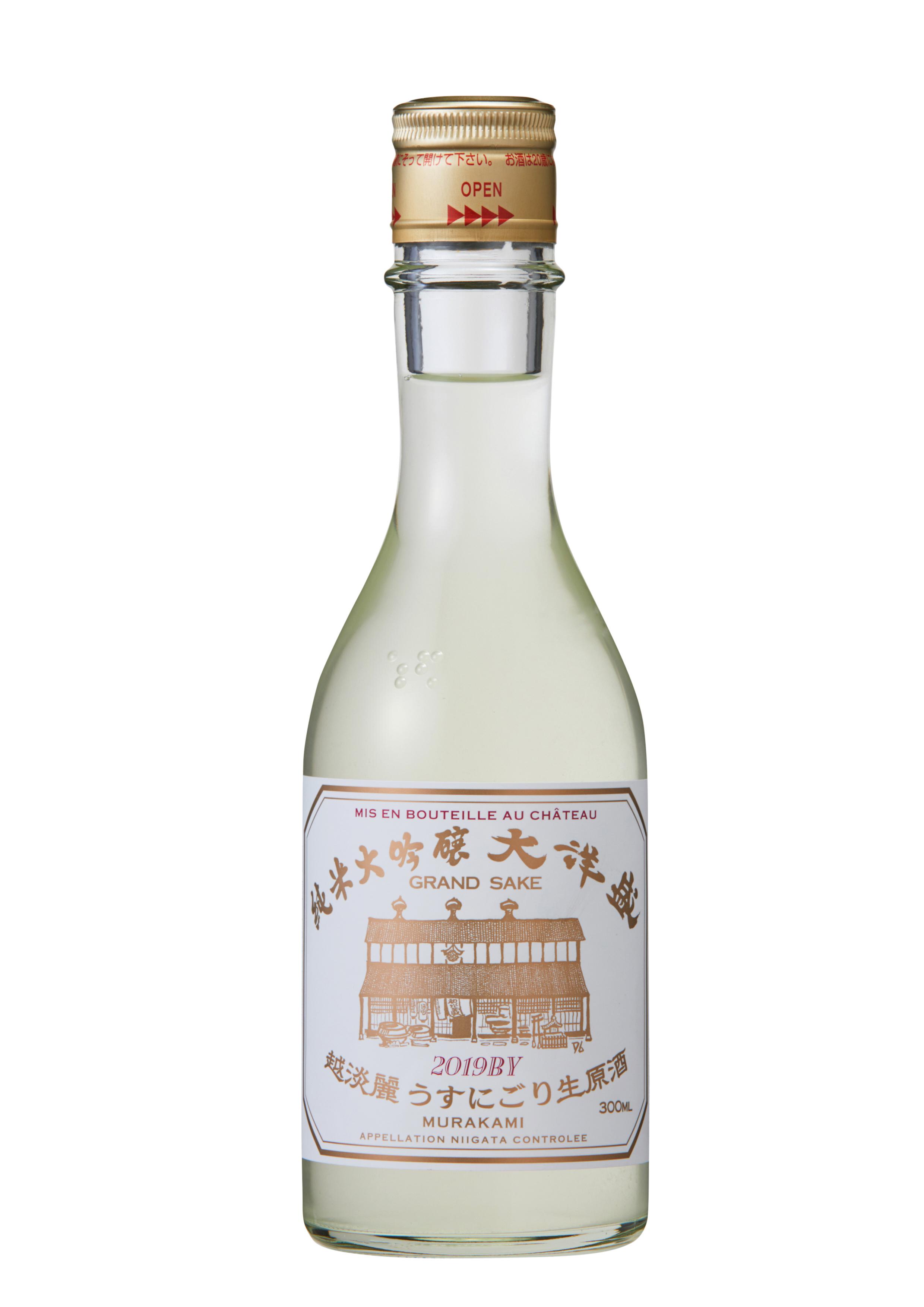 """大洋盛 """"越淡麗うすにごり生原酒"""" 純米大吟醸酒 300ml"""