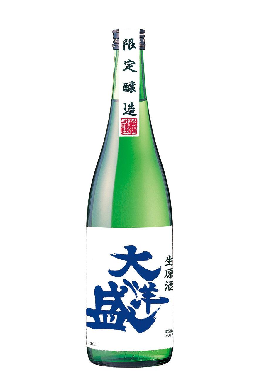 大洋盛 純米無濾過原酒 1.8L