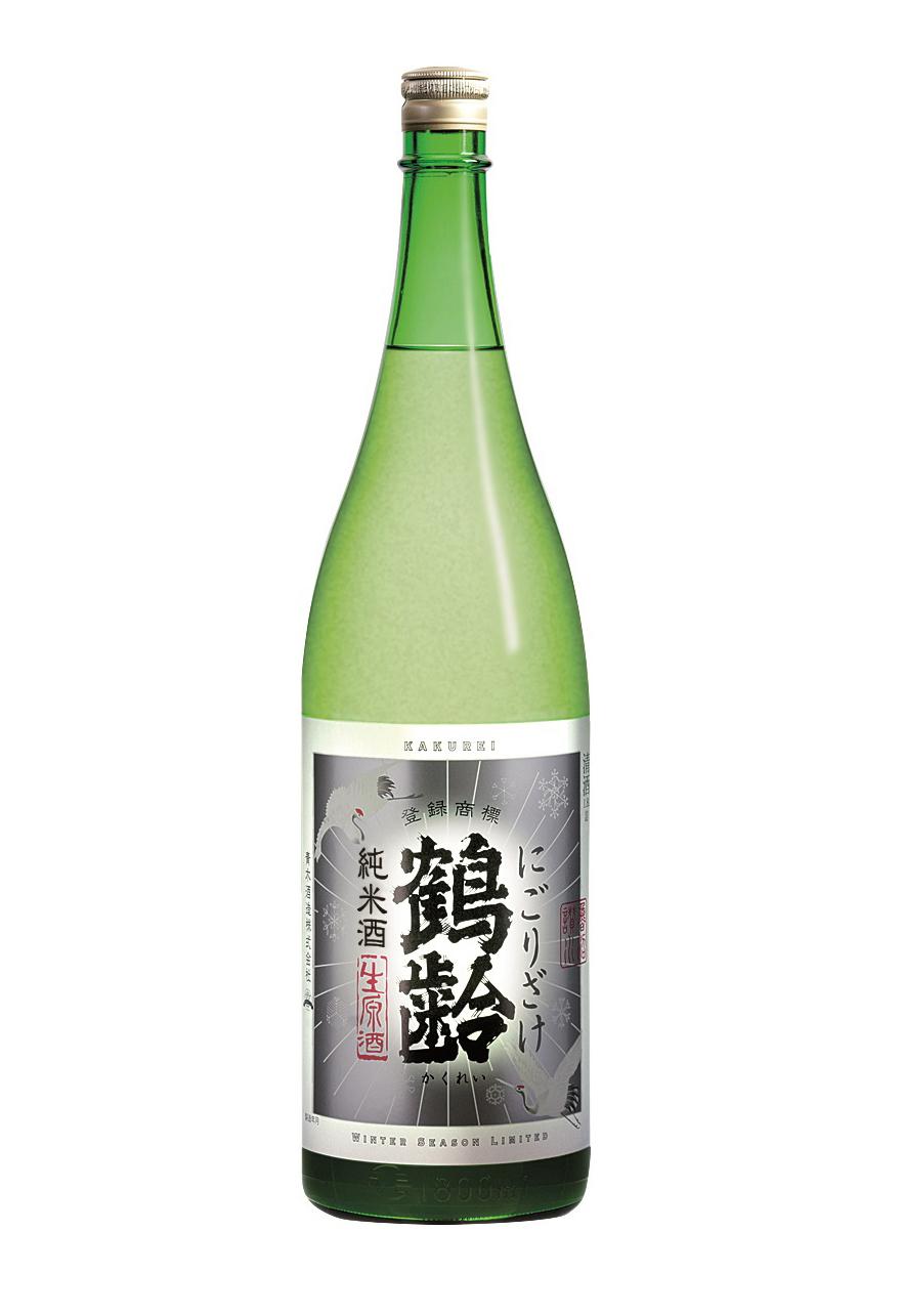 鶴齢 純米にごりざけ 1.8L